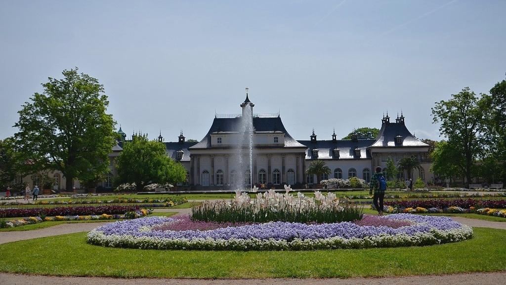 Zámecká zahrada Pillnitz