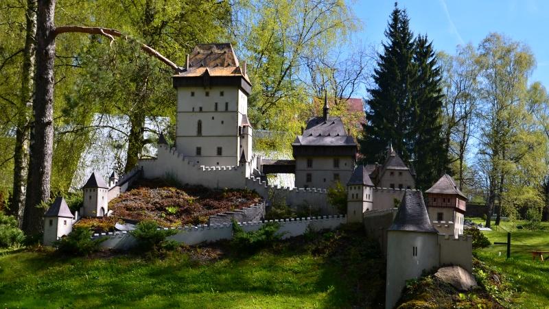 Park miniaturních staveb Česka Boheminium