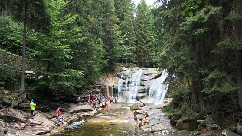 Mumlavský vodopád a Liščí stezka