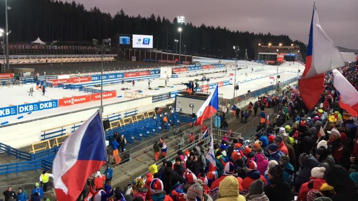 Světový pohár v biatlonu v Novém Městě na Moravě