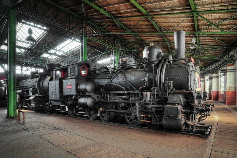 Železniční muzeum v Chomutově