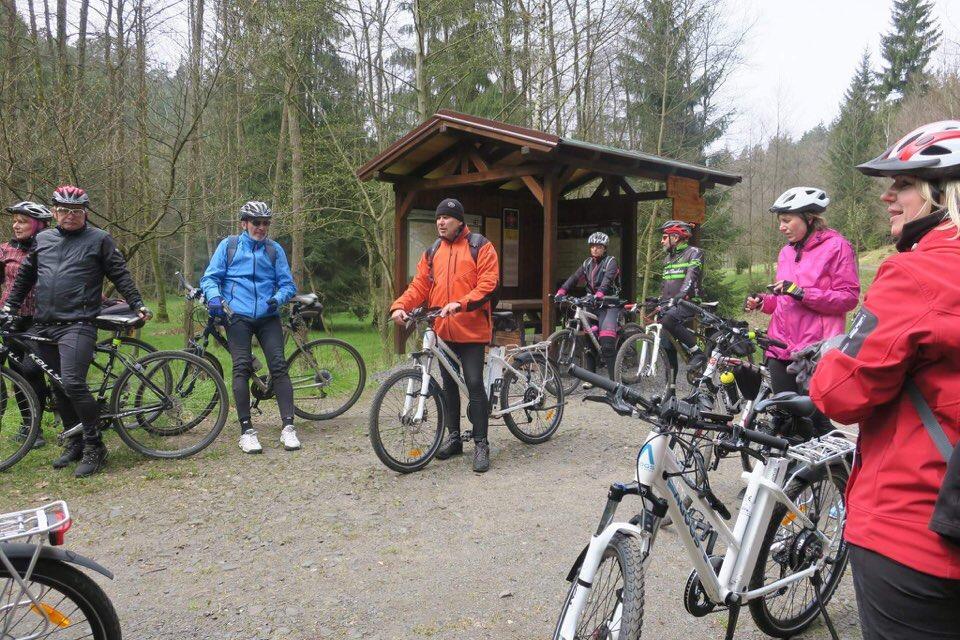 Křinická cyklostezka aneb divočinou Českosaského Švýcarska