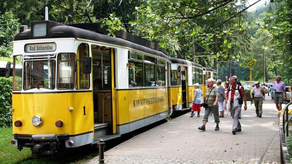 Tramvají po Saském Švýcarsku