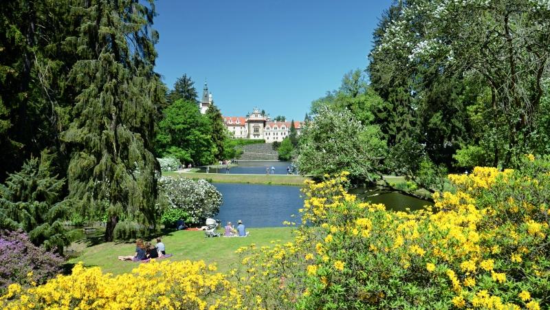 Zámecký park v Průhonicích