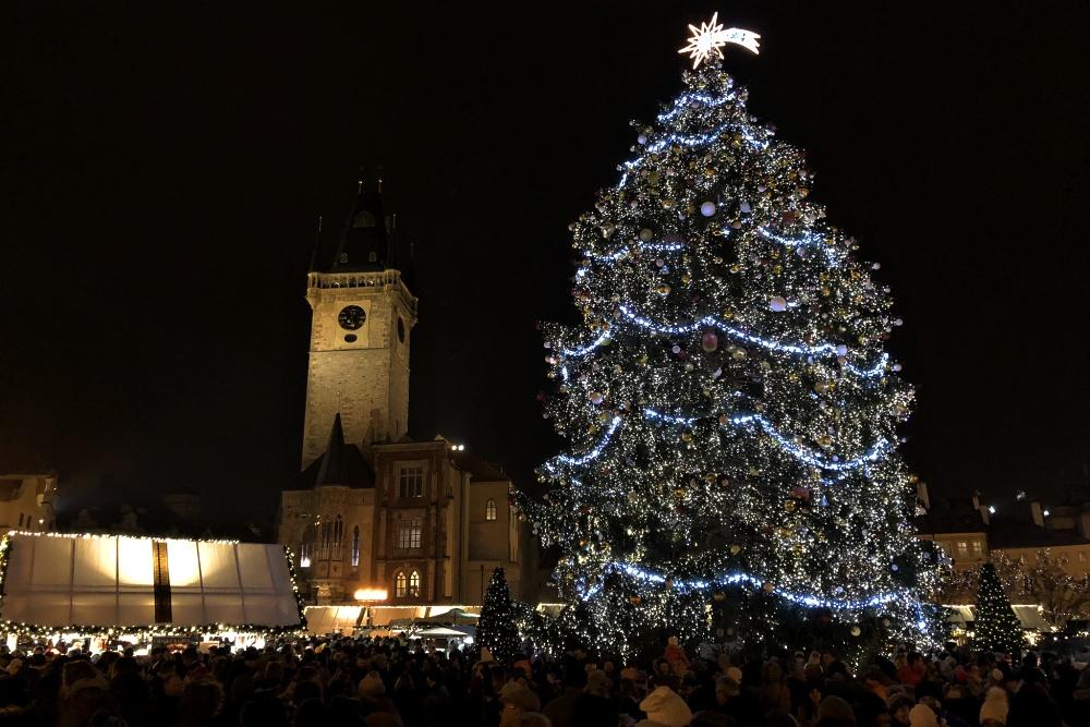 Vánoční trhy a návštěva Staroměstské radnice