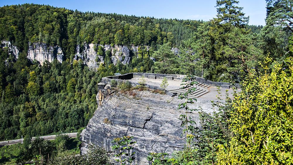Nejkrásnější výhledy do kaňonu Labe