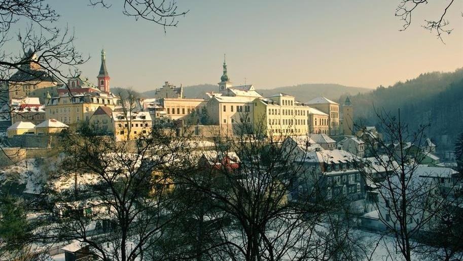 Zimní prohlídky na hradě Loket