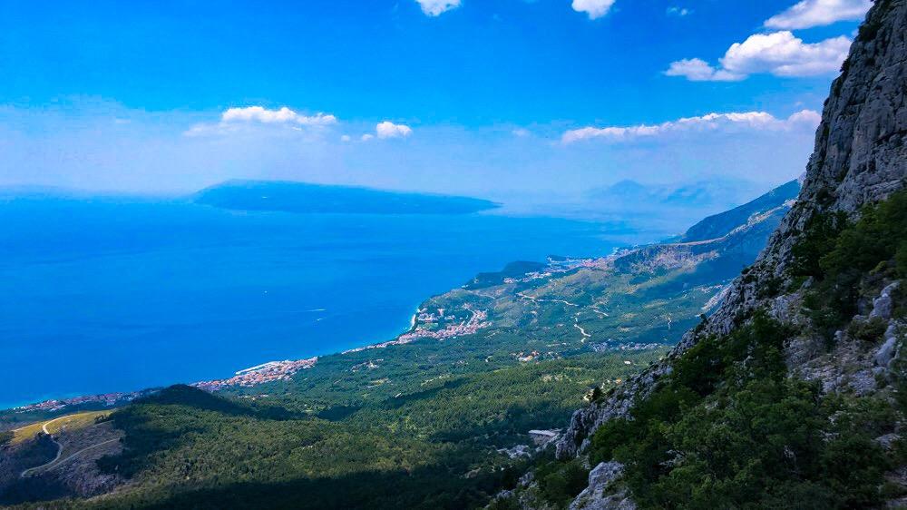 Sveti Jure - vysokohorská turistika autem