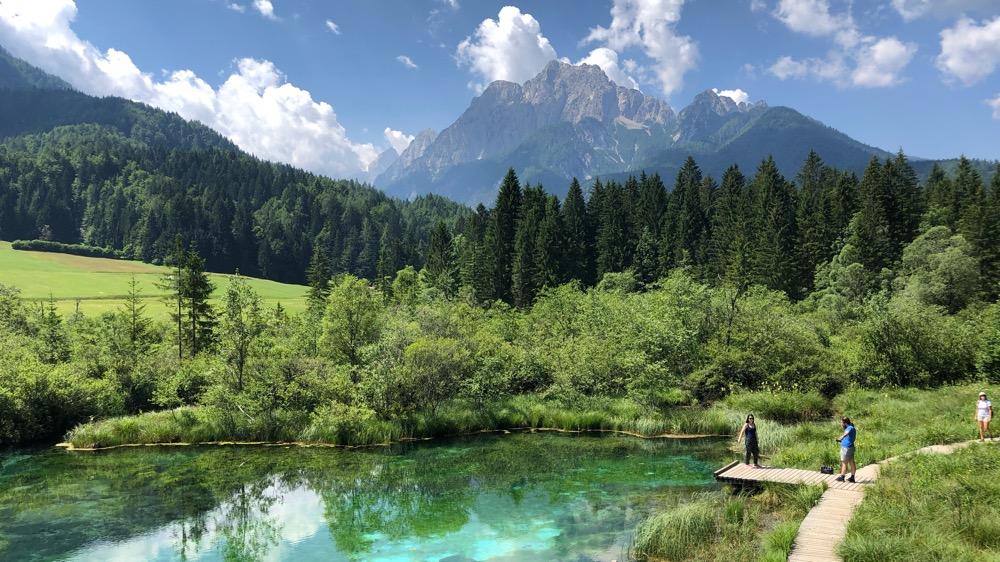 Přírodní rezervace Zelenci