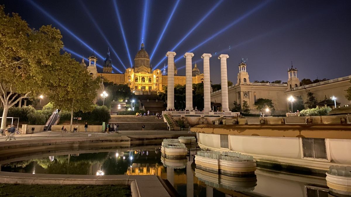 Kouzelná fontána Font Màgica de Montjuïc
