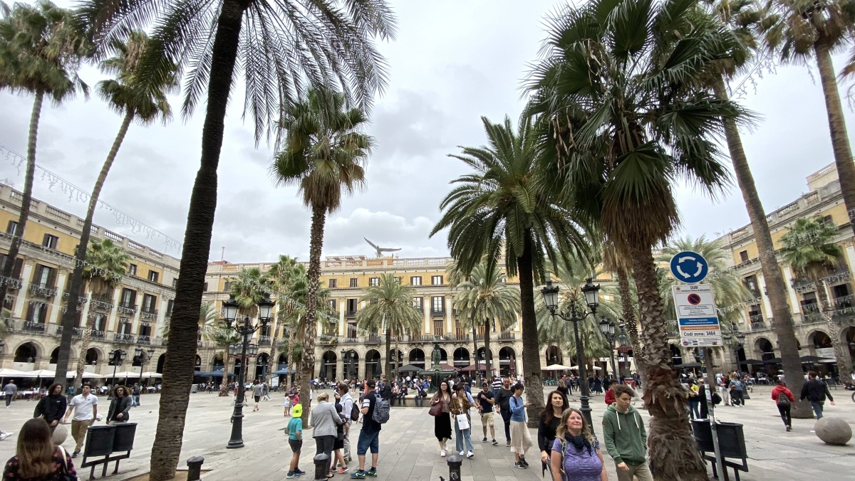Historická čtvrť Barri Gotic