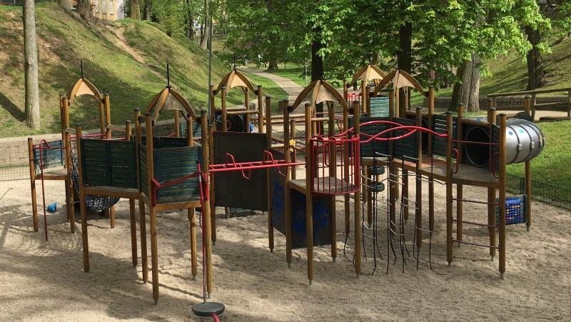 Chebské nábřeží plné zábavy pro děti