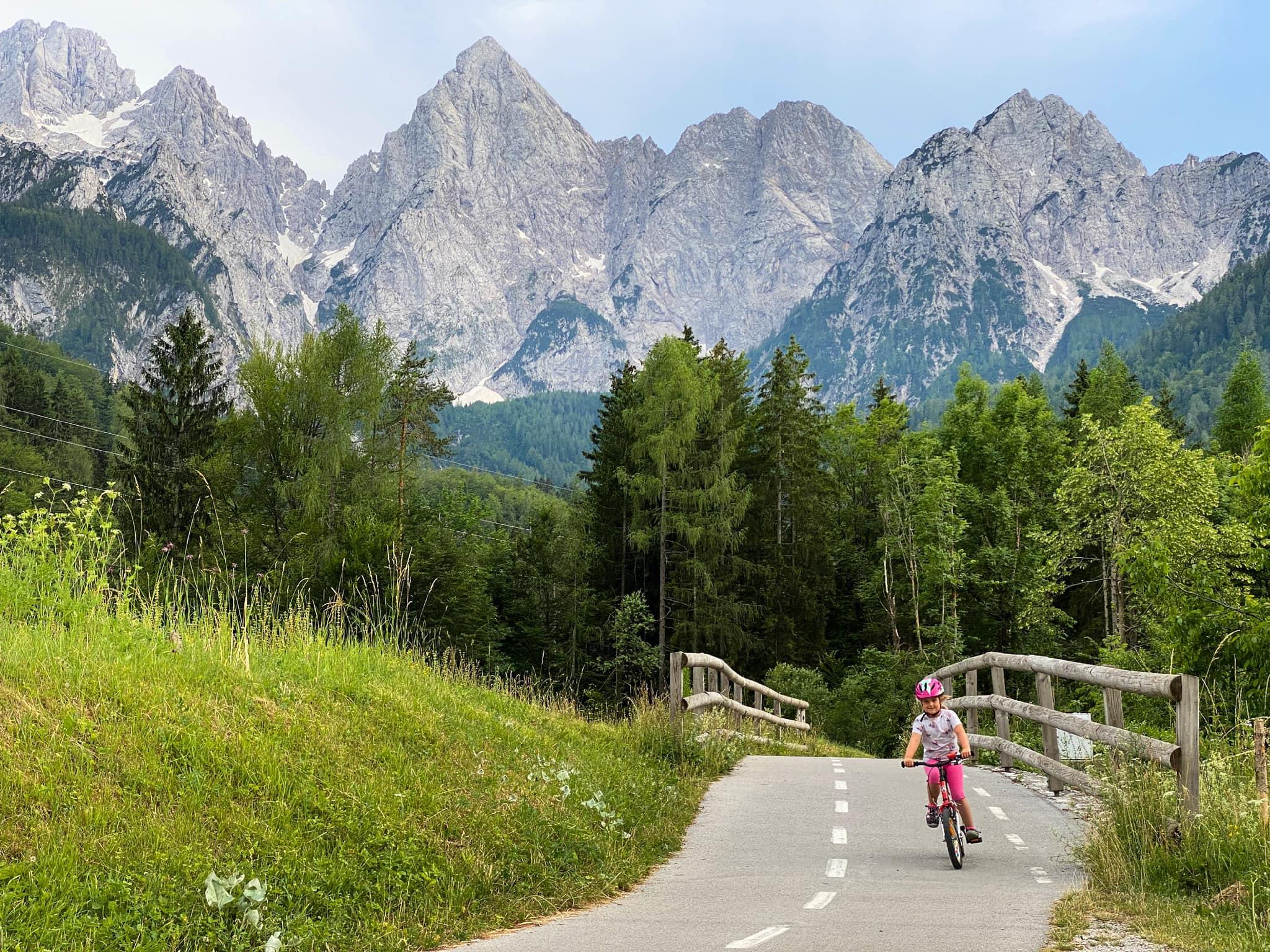 Cyklovýletík pod Alpami
